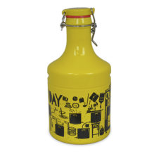 "GROWLER STEEL 2000ML AMARELO &#8220;FESTIVAL&#8221; <span class=""ref"">G: 1662201G</span>"